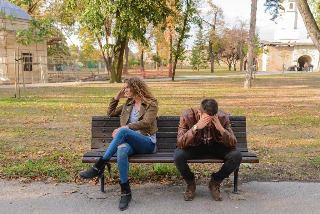częste kłótnie w związku